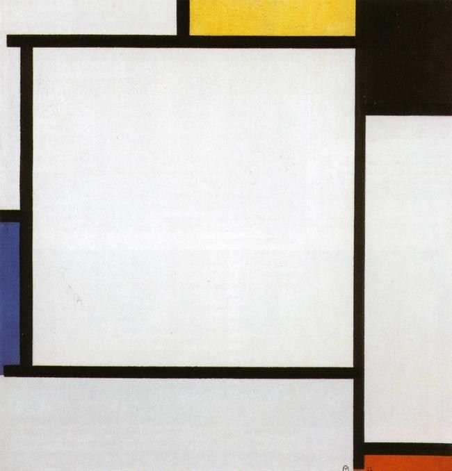 Piet Mondrian Composition 2
