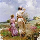 Pino Tuscan Stroll painting