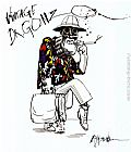 Ralph Steadman Art Fear And Loathing In Las Vegas I painting