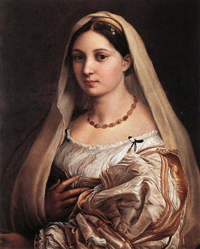 Raphael The Woman with The Veil