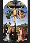 Christ paintings - The Mond Crucifixion by Raphael
