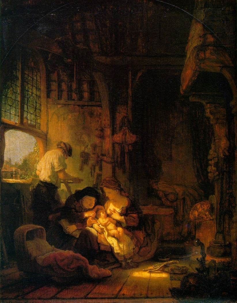 Rembrandt Holy Family