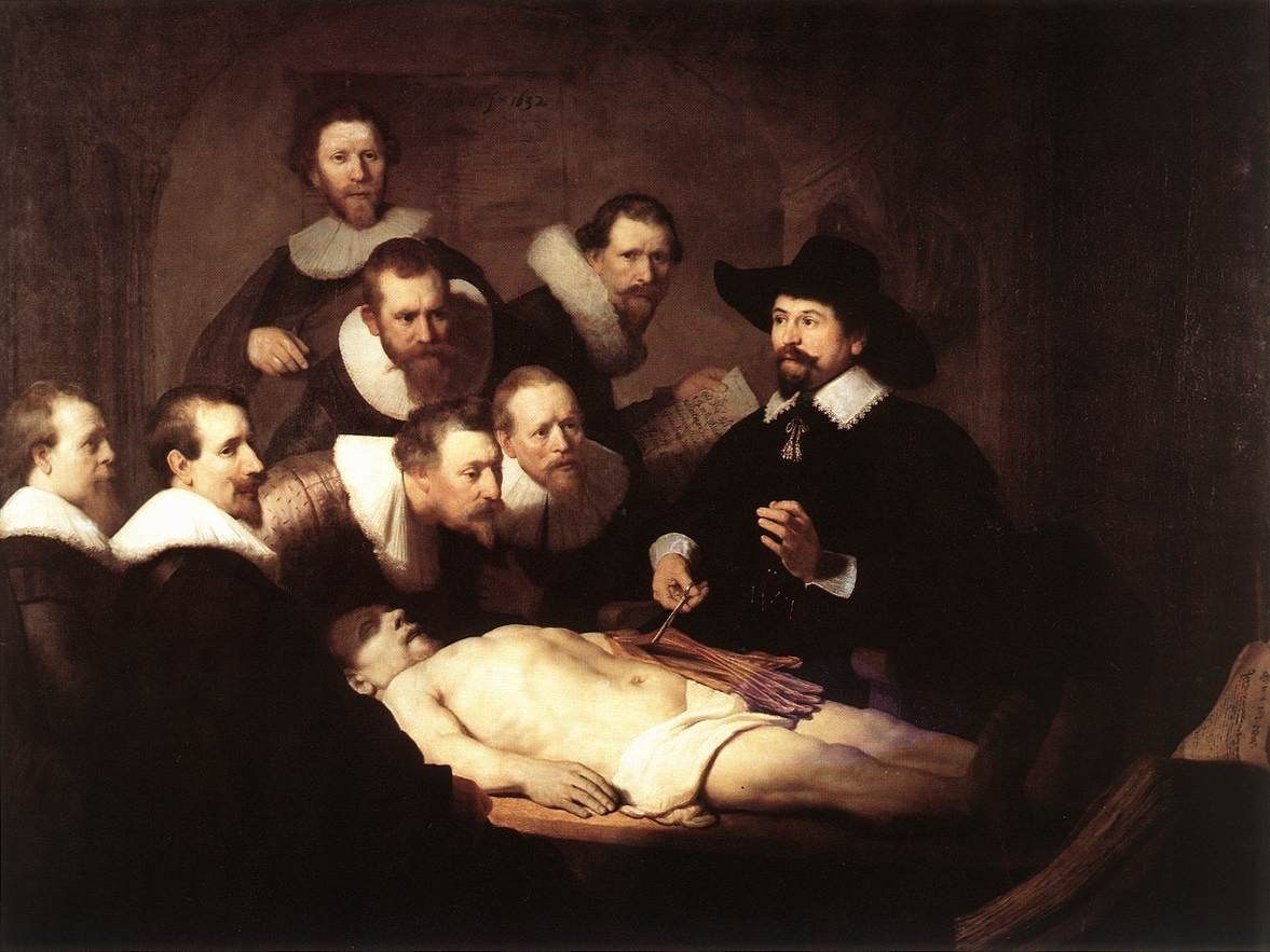 Rembrandt The Anatomy Lesson of Dr Tulp