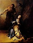 Rembrandt Samson And Delilah painting