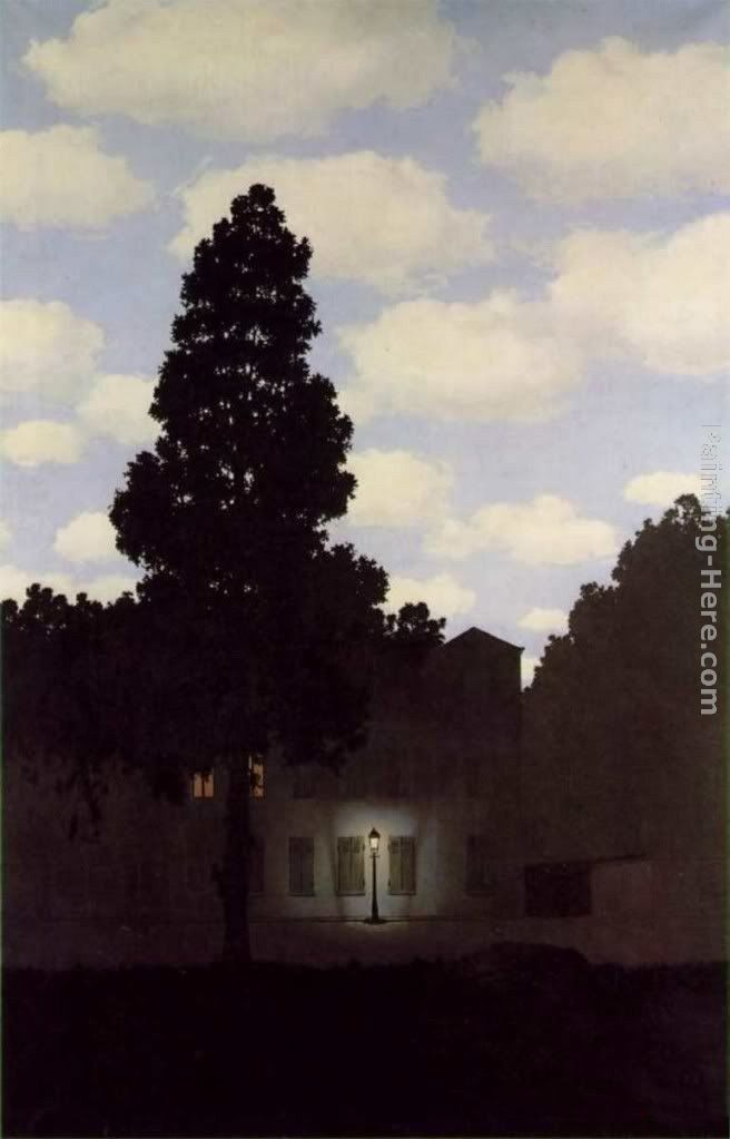 Rene Magritte The Empire Of Light Dark