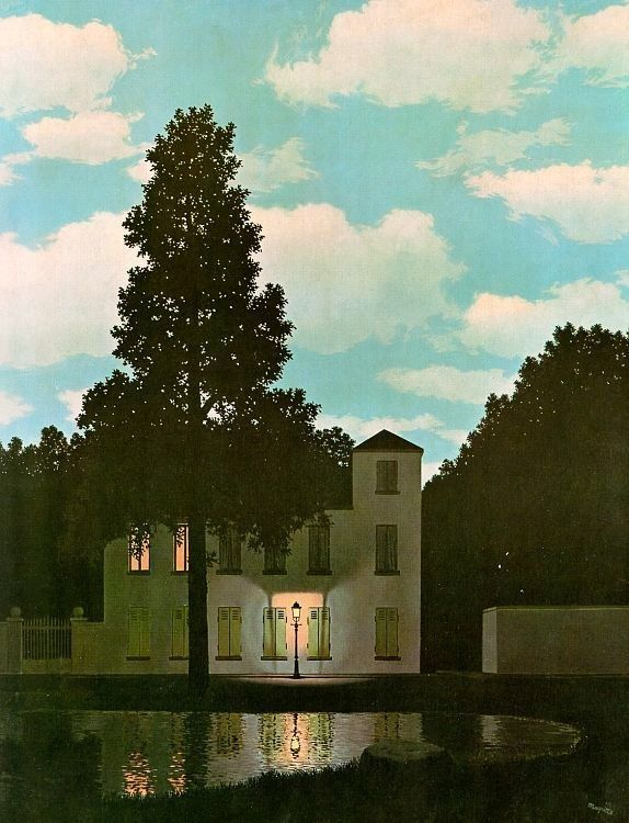 Rene Magritte The Empire of Light