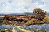 Landscape paintings - Texas Spring by Robert Wood