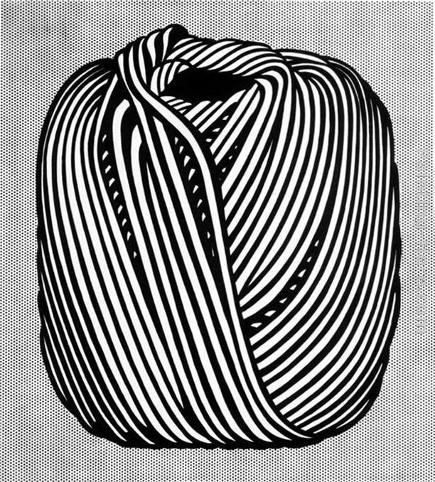 Roy Lichtenstein Ball of Twine,1963