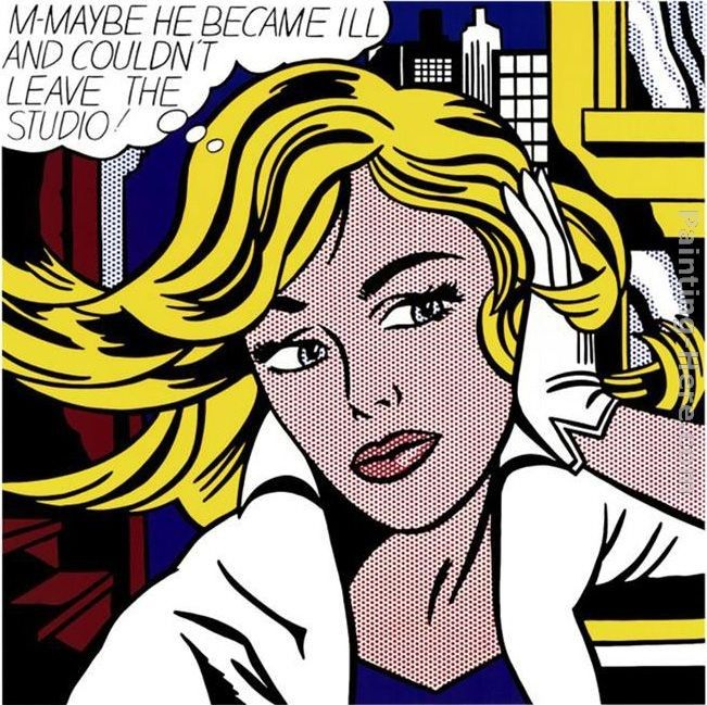 Roy Lichtenstein M-Maybe