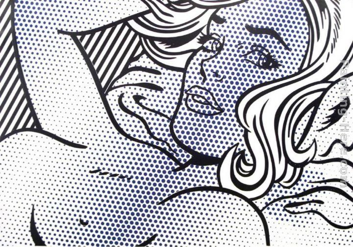 Roy Lichtenstein Seductive Girl