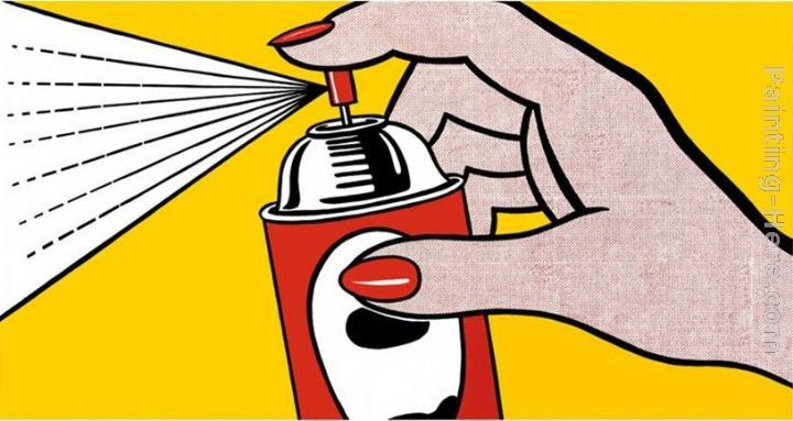 Roy Lichtenstein Spray,1962