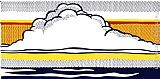 Roy Lichtenstein Cloud and Sea, 1964 painting