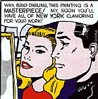 Roy Lichtenstein Masterpiece,1962 painting