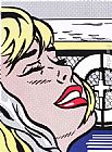 Roy Lichtenstein Shipboard Girl painting