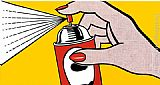 Roy Lichtenstein Spray,1962 painting