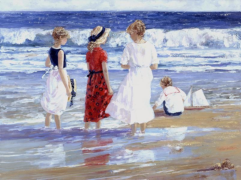 Sally Swatland By the Sea