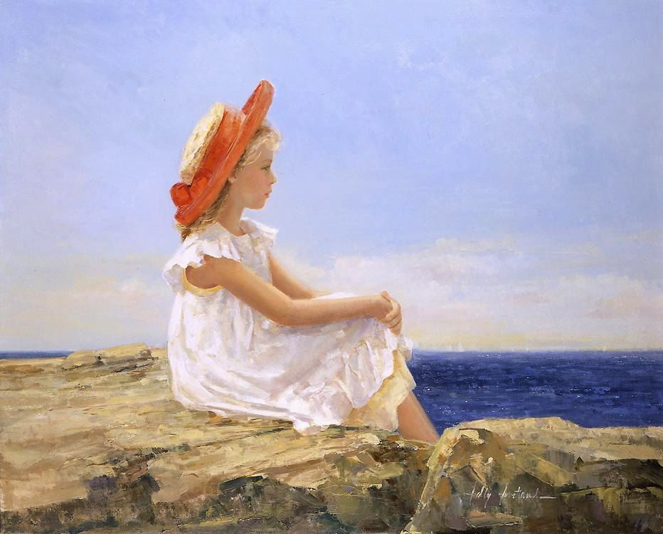 Sally Swatland Looking Out to Sea
