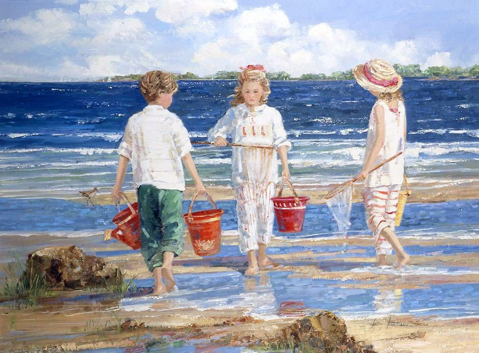Sally Swatland Nets and Pails