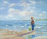 Sally Swatland Morning Walk painting