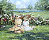Sally Swatland Quiet Afternoon at Binney Park painting