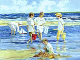 Sally Swatland Summer on Long Island painting