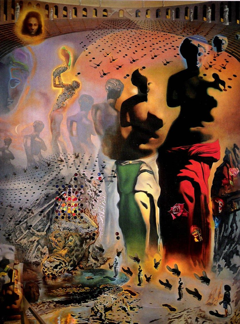 Salvador Dali The Hallucinogenic Toreador