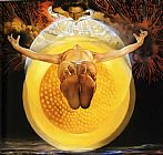 Abstract paintings - Ascension by Salvador Dali