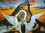 Abstract paintings - Bacchanale by Salvador Dali