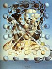 Salvador Dali Galatea of the Spheres painting
