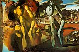 Salvador Dali Metamorphosis of Narcissus painting