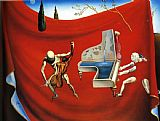 Music paintings - Music The Red Orchestra The Seven Arts by Salvador Dali