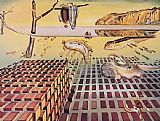 Salvador Dali The Disintegration of the Persistence of Memory painting