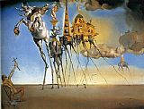 Abstract paintings - The Temptation of St. Anthony by Salvador Dali