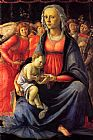 Sandro Botticelli The Virgin and Child with Five Angels painting