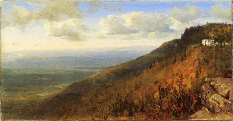 Sanford Robinson Gifford A Sketch from North Mountain, In the Catskills