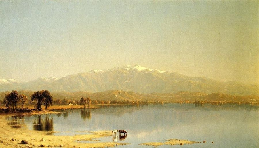 Sanford Robinson Gifford Early October in the White Mountains