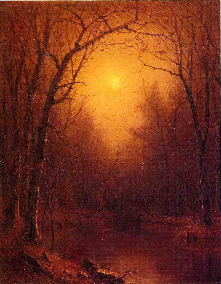Sanford Robinson Gifford Indian Summer in the Bronx