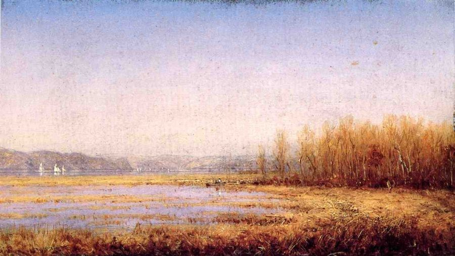Sanford Robinson Gifford Marshes of the Hudson