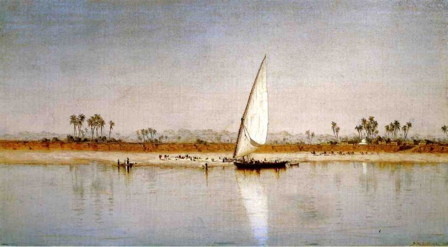 Sanford Robinson Gifford On the Nile
