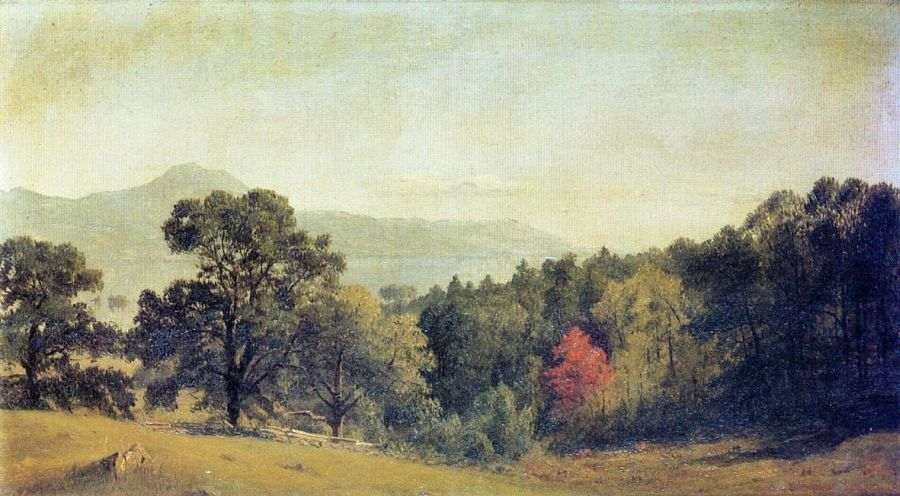 Sanford Robinson Gifford Scene at Bolton, Lake George