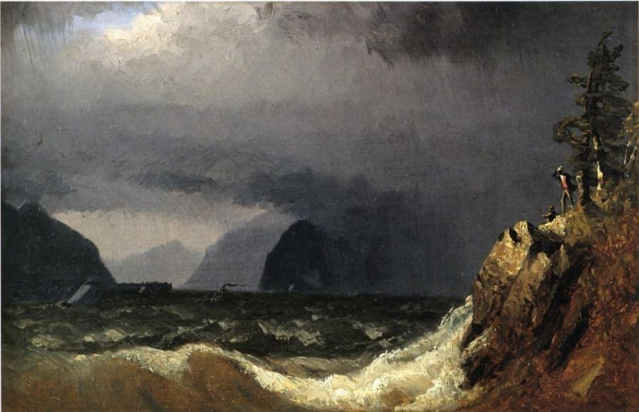 Sanford Robinson Gifford Storm King of the Hudson