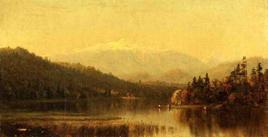 Sanford Robinson Gifford Sunset in the White Mountains