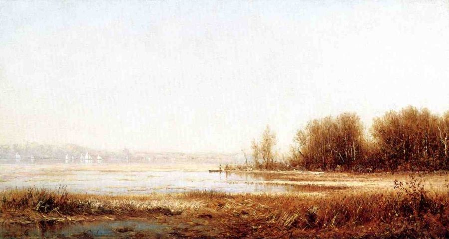 Sanford Robinson Gifford The Marshes of the Hudson
