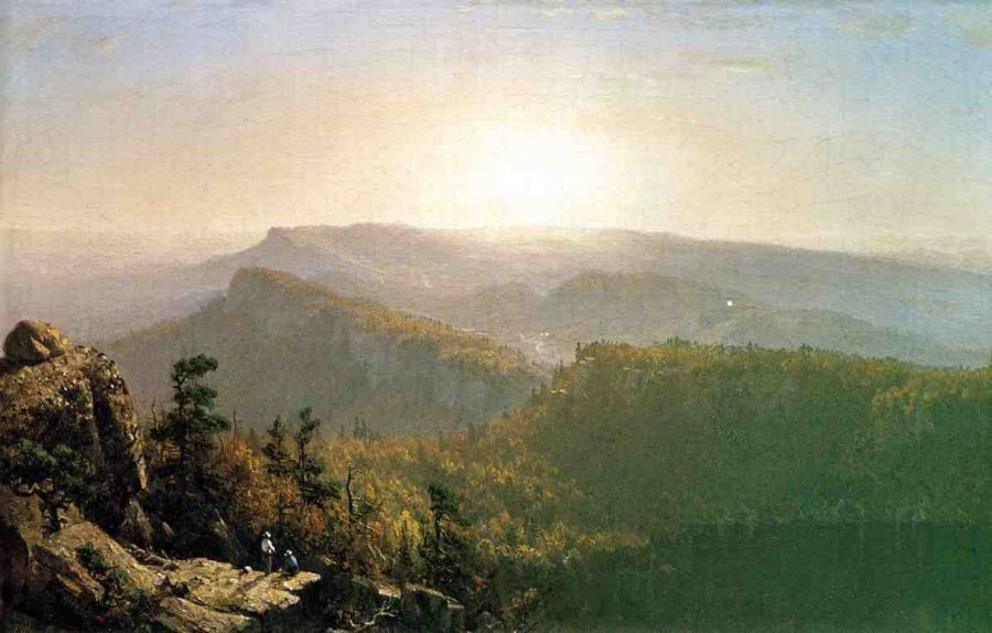 Sanford Robinson Gifford The Shawangunk Mountains
