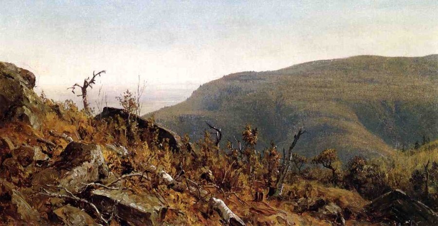 Sanford Robinson Gifford The View from South Mountain in the Catskills, A Sketch