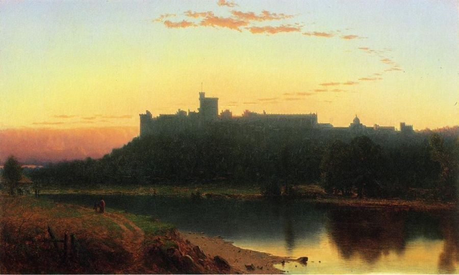 Sanford Robinson Gifford Windsor Castle