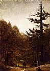 Sanford Robinson Gifford A Forest Road painting