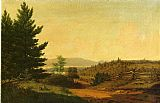 Sanford Robinson Gifford Hudson Valley Idyll painting