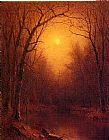 Sanford Robinson Gifford Indian Summer in the Bronx painting