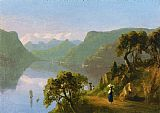 lake como Paintings - Lake Como